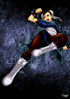 Chun Li Fan Art by shukei20