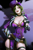 |Commission| Mad Moxxi by JELLYEMILY