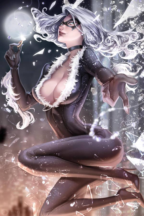 Black Cat by JELLYEMILY
