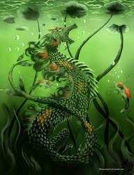 Koi Fish Fantasy by Khaoseden