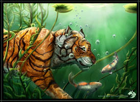 Big Fish or Tiger? by WhiteWolfMystic