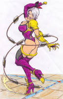 Ivy from Soul Calibur 2 color by FWV