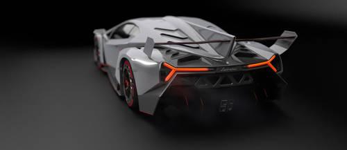 Lamborghini Veneno WIP 2 by pierre-allard