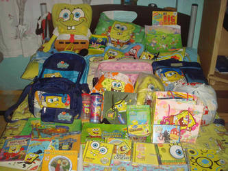 My SpongeBob Collection by Carossmo