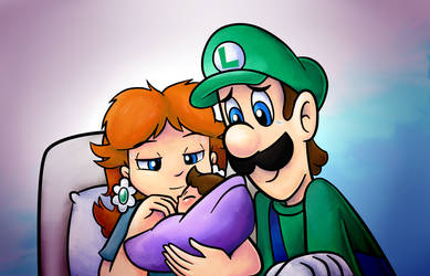 Super Mario: At Least She Has My Hair by Carossmo