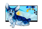 Wispi #57: Frosted Hound Raffle [CLOSED] by Tyasi