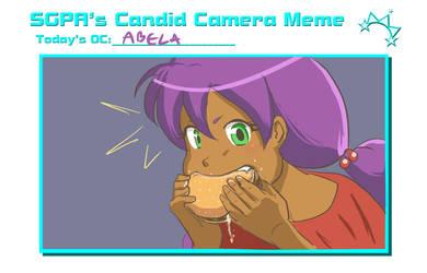 Abela - Hamburger Time! by Meliah