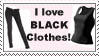 I love black clothes by vero-g6-stamps