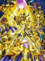 Saint Seiya Soul of Gold Poster 01 by SaintAldebaran