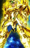 Aioria Soul of Gold (Collage 2) by SaintAldebaran