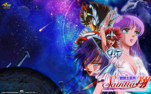 Saint Seiya Saintia Sho Anime Wallpaper by SaintAldebaran