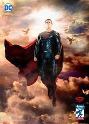Superman Action Comics 1000 version - Movie Poster by SaintAldebaran