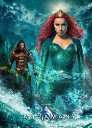 Aquaman movie poster (ver. 2.0) by SaintAldebaran