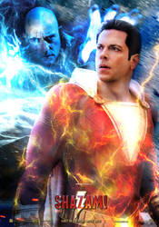 Shazam Movie Poster 2 by SaintAldebaran