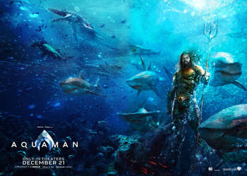 Aquaman movie Wallpaper by SaintAldebaran