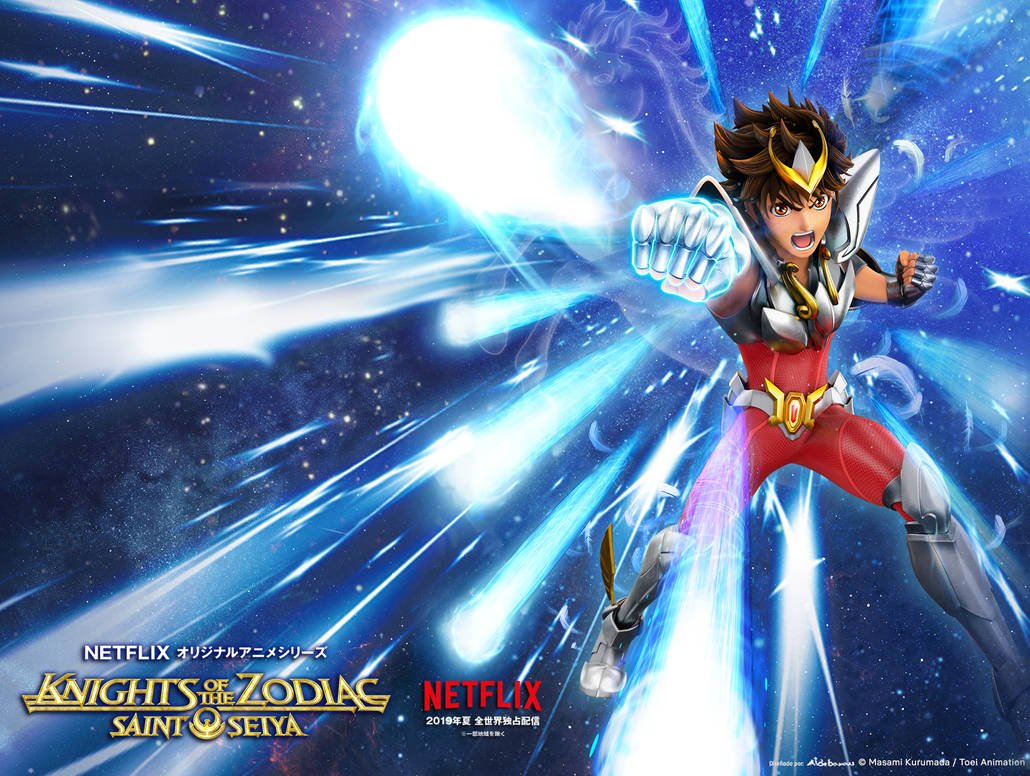 Saint Seiya Netflix Wallpaper by SaintAldebaran