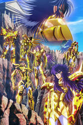 Gold Saints (Saint Seiya Saintia Sho) by SaintAldebaran