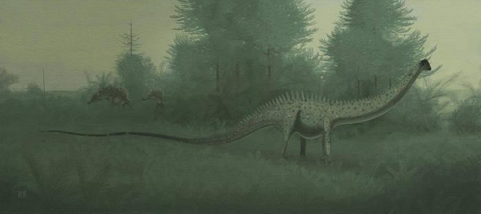 Diplodocus longus by jconway