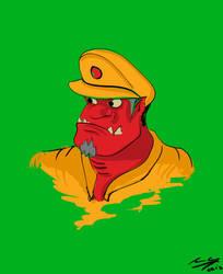 Goblin de la Brigada Gay by IanCookeTapia
