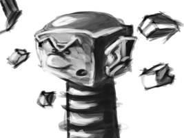 Daily Greyscale Sketch01 by IanCookeTapia