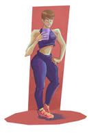 Gym Selfie by IanCookeTapia