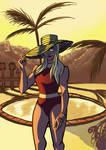Hat in the Sun by IanCookeTapia