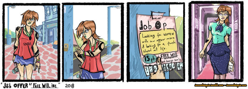 Job Offer by Free Will Inc by IanCookeTapia