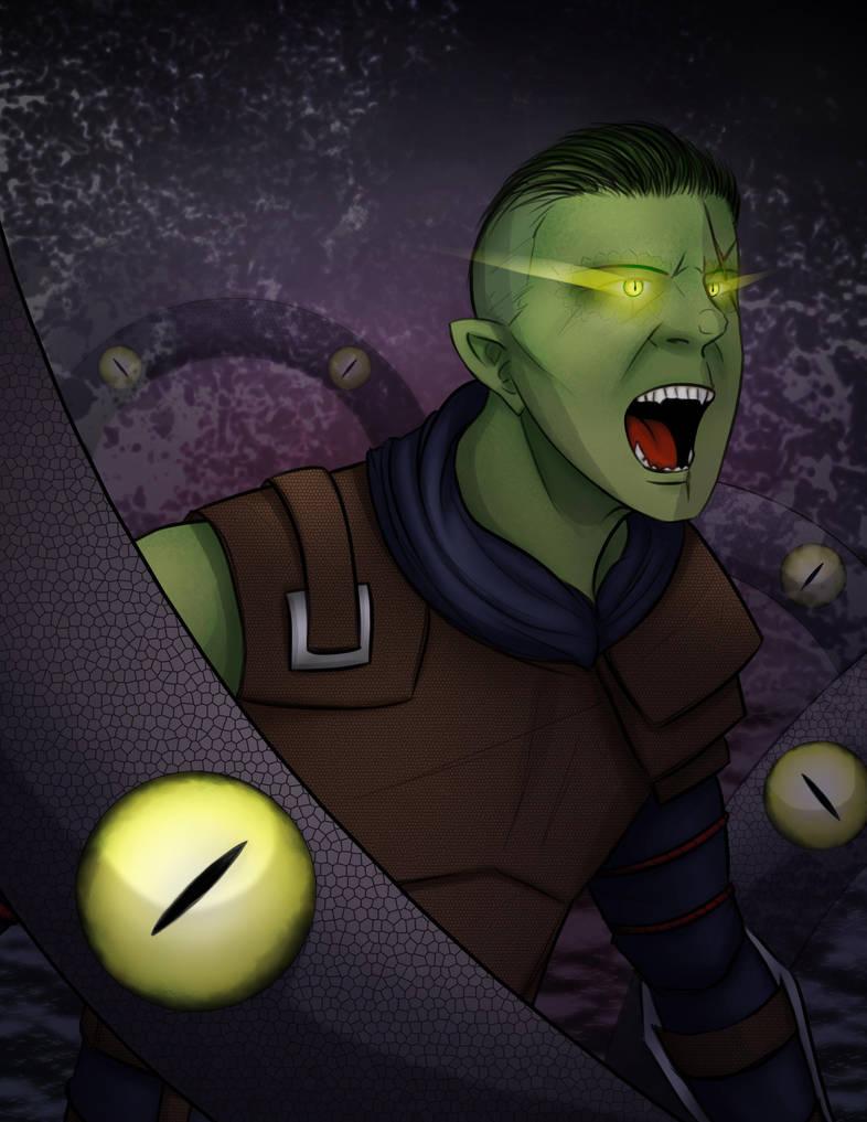 Critical Role - Snake Eyes by Final-Fanart