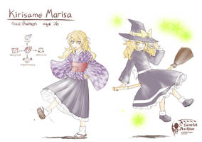 TMLGG_Character's Concept: Kirisame Marisa by void-contains-all