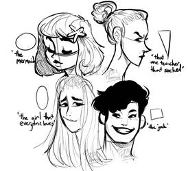 girl shapes by phvraoh