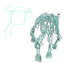 Mech-sketch by GeckoCraft