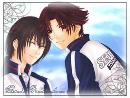 Best friends Fuji Eiji by shuui