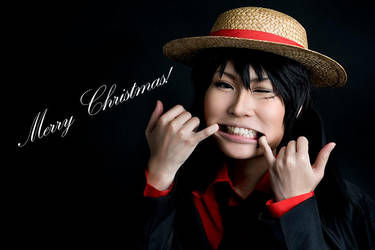 One Piece: Merry Christmas feat. Luffy by shuui