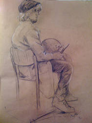 Life drawing by wRulf