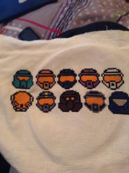 RVB Project Freelancer Cross Stitch by QuillArtist