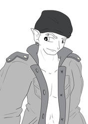 Elf thug by Muse-comics