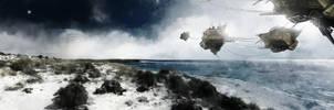 Coastal Drones by TavenerScholar