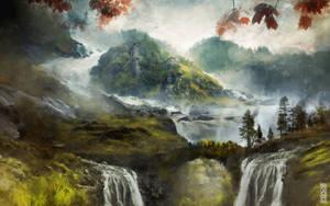 Great Falls Crossing by TavenerScholar
