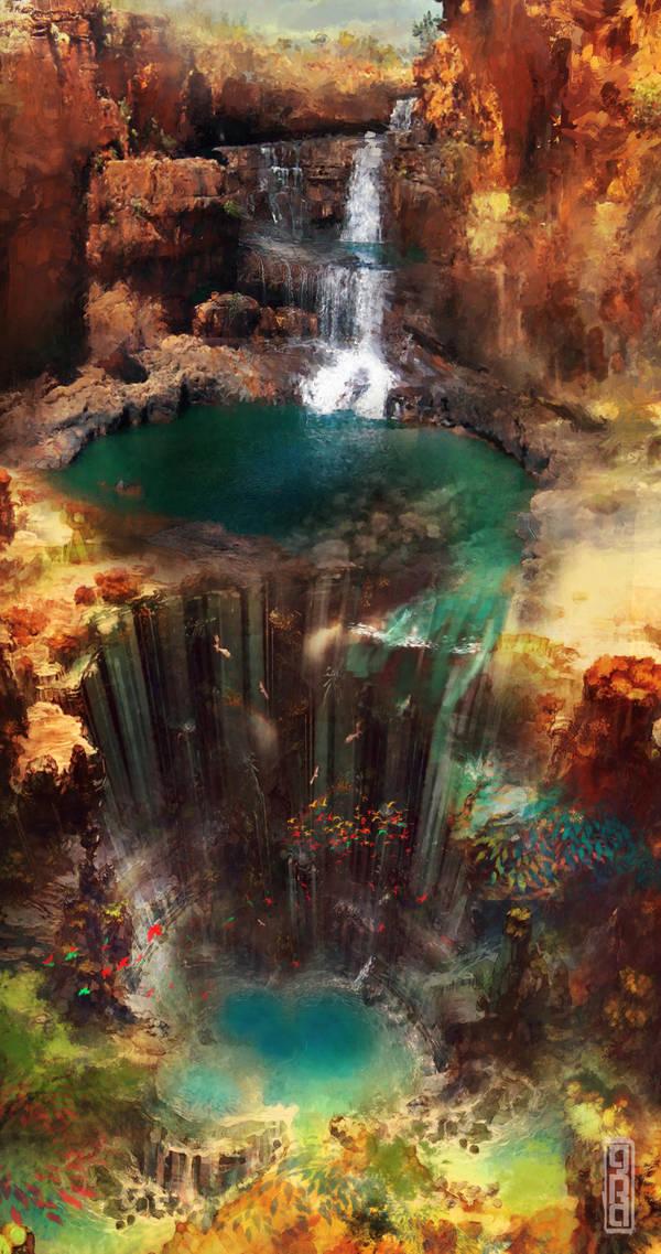 Hidden Falls Alternate by TavenerScholar