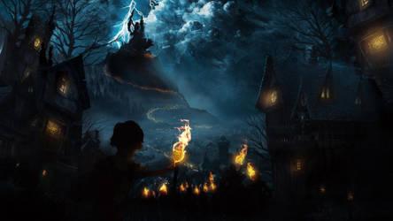 Storming the Castle by TavenerScholar