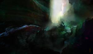 Lost Cavern by TavenerScholar