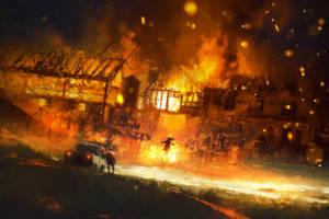 Fire Walker by TavenerScholar