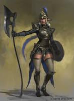 Elf Warrior by Jaasif