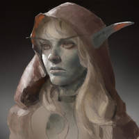 Sylvanas Sketch by Jaasif