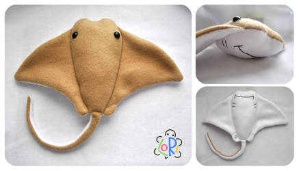 COMMISSION - cownose stingray by LoRi-La-Tortuga