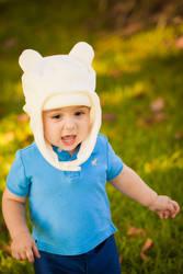 Adventure Time | Finn Cosplay (baby) by jmnettlesjr