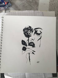 Rose by SandrineJacquesson