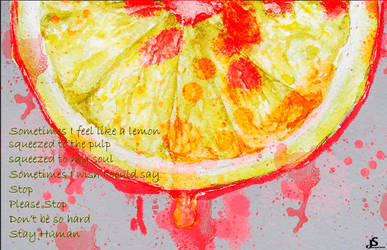 Like a lemon by SandrineJacquesson