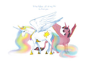 All of my life by spectralunicorn