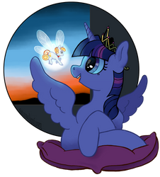 Blue Twilight by spectralunicorn